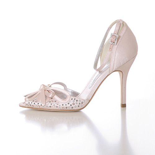cream ankle strap heels | Shoes | Pinterest | Strap heels, Ankle ...