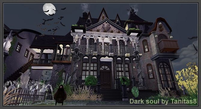 Dark soul residential lot lot 40x30 bed -5 bathrooms -2 Screenshots can be found here  http://tanitas8.tumblr.com/post/124250550256/dark-soul-residential-lot-lot-40x30-bed-5