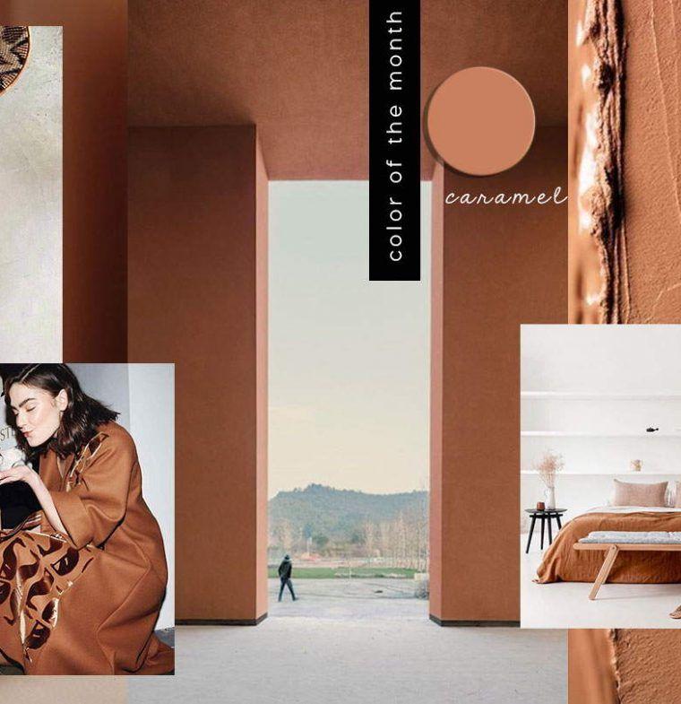 2020 Interior Color Trends.Interior Color Trends 2020 Caramel In Interiors And Design