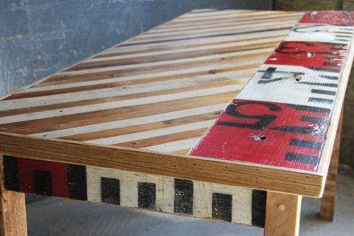 cubierta maderas