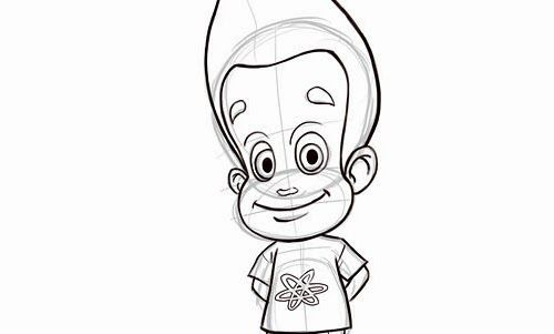 How to Draw Jimmy Neutron | Homeschooling | Pinterest | Drawings ...