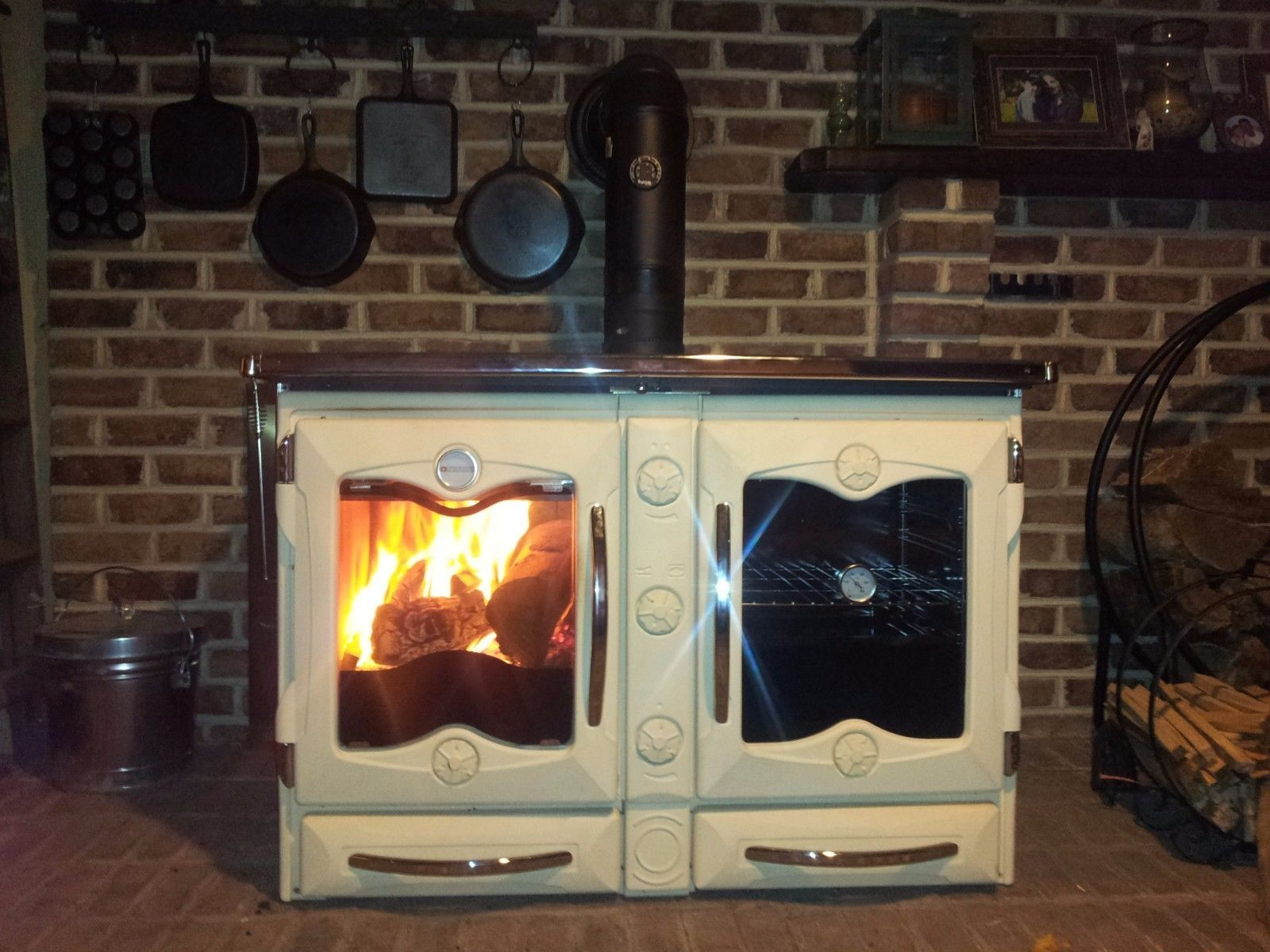 Wood Burning Cook Stove La Nordica