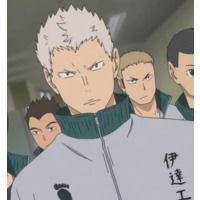 Takanobu Aone Haikyu Anime Characters Database Haikyuu Anime Haikyuu Kageyama Haikyuu Fanart