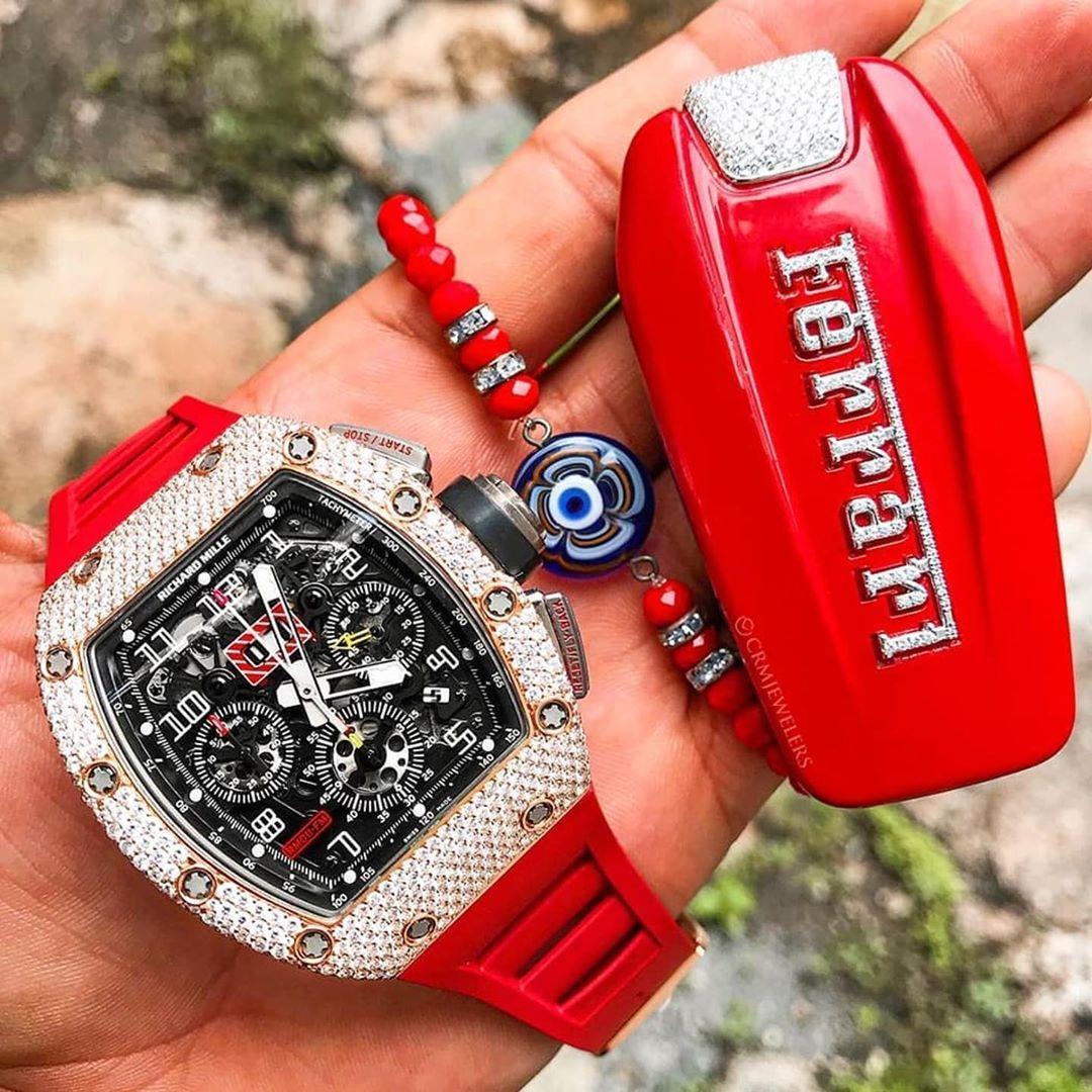 Richard Mille Ferrari Follow Me Horologicalmarvel Crmjewelers Luxury Watches For Men Luxury Watches Luxury