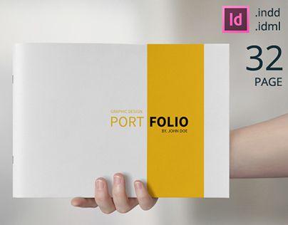 Graphic Design Portfolio Template on Behance | Portfolio Ideas ...