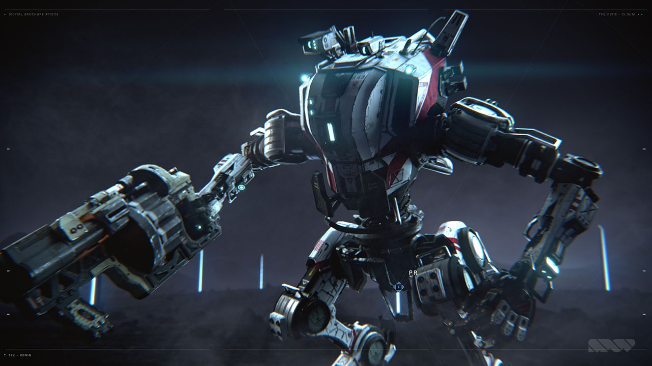 3D animation, character animation, motion graphics, Titanfall 2