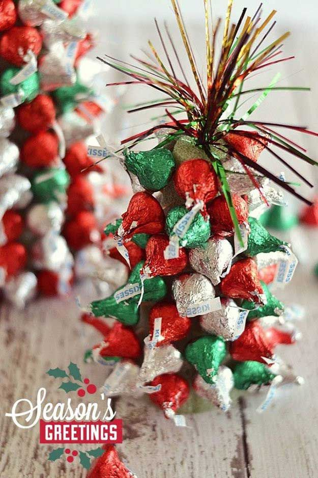 Easy Christmas Centerpiece Ideas Trees, Easy diy and Centerpiece ideas