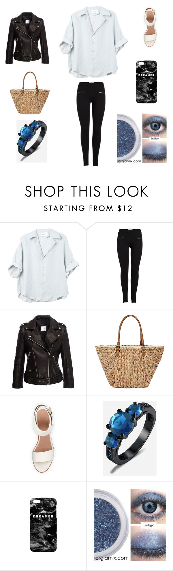 """Sin título #1155"" by bravotamara on Polyvore featuring moda, Anine Bing, Straw Studios, BEA y Mr. Gugu & Miss Go"