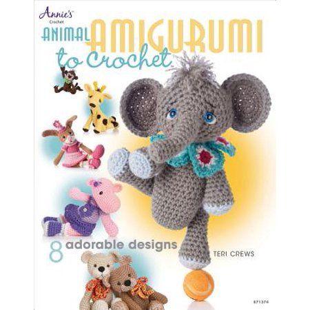 Annie's Crochet: Animal Amigurumi to Crochet: 8 Adorable Designs (Paperback) - Walmart.com