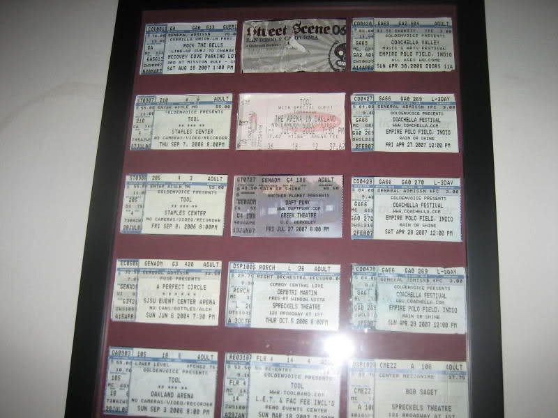 Concert Junkie How-To 5 Things to Do With Your Ticket Stubs - blank ticket