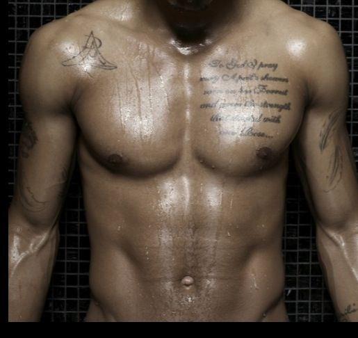 Chest Tattoos On Guys Trey Songz Shirtless Trey Songs Trey Songz
