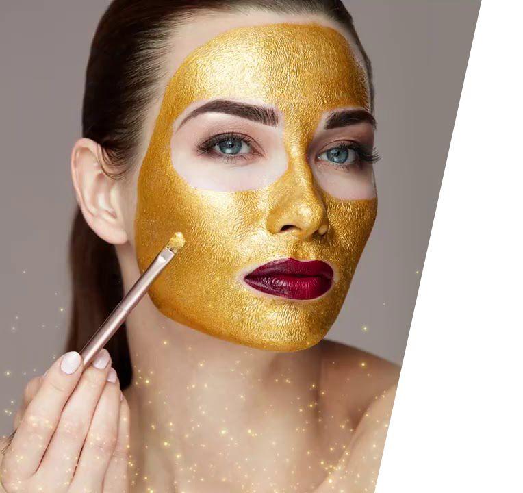 Mascara colageno com ouro – Sweat Belt -Tecnologia Americana   Mascara de  ouro, Máscara, Hidratação facial