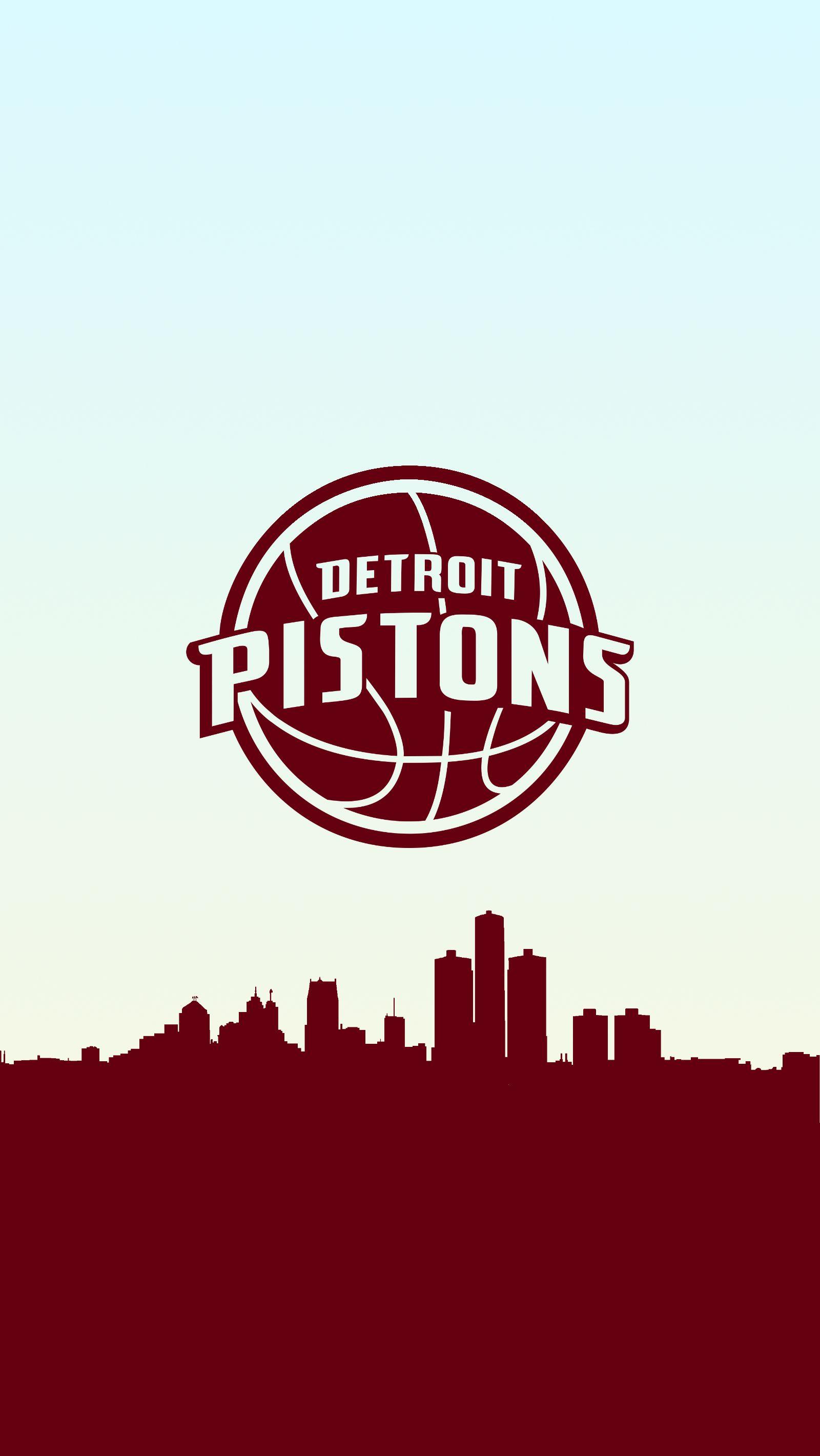 Detroit Pistons Basketball Phone Background Detroit Pistons Detroit Pistons Basketball Nba Basketball Teams