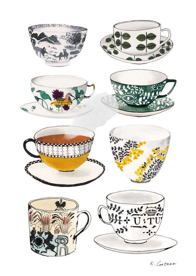 Source: katrin.co.za #teacups