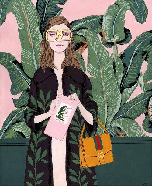 Beverly Hills Hotel print von BijouKarman auf Etsy