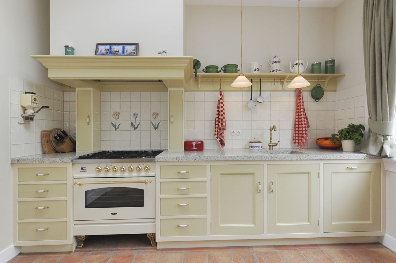 Keuken Landelijk Creme : Fotos van klanten mertens keukenambacht nostalgische