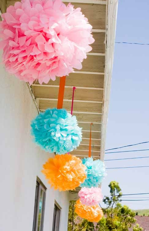 diy outdoor birthday decoration ideas 1st Birthday Party Ideas