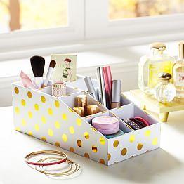 Dorm Room Ideas, Dorm Room Essentials U0026 Dorm Room Decorating | PBdorm |  PBteen. Cosmetic StorageCosmetic ...