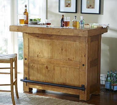 rustic ultimate bar small potterybarn dreaming about home ideasrustic ultimate bar small potterybarn