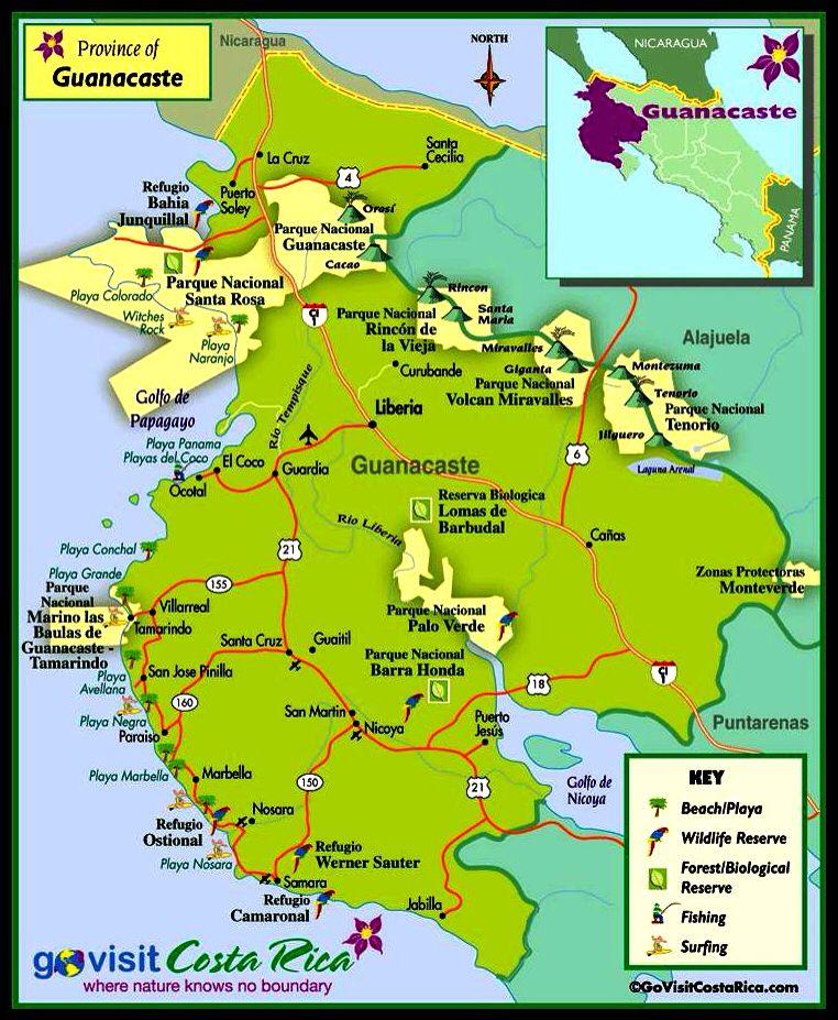 Guanacaste Province. Costa Rica.