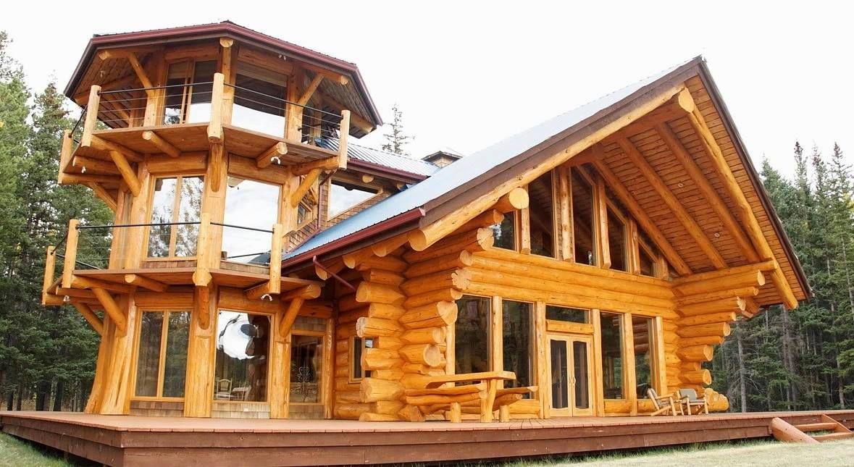 Tower Log Home Design Log Home Designs Log Homes Log Home Decorating