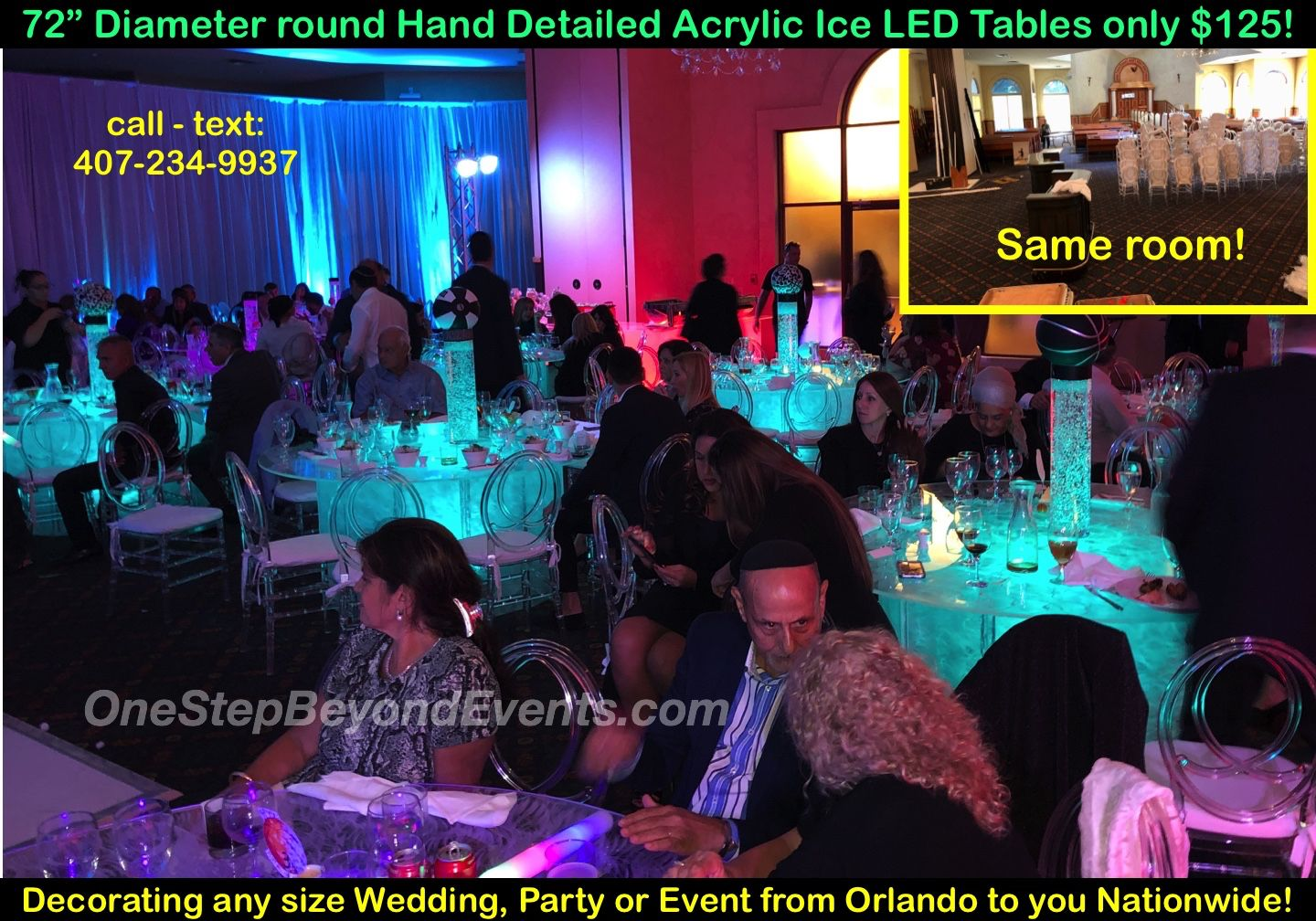 New Style Event Rental Ideas Glow Table Led Furniture Rentals South Beach Vegas Style Light Up Glow Decor 4 In 2020 Glow Table Party Rentals Disco Theme Parties