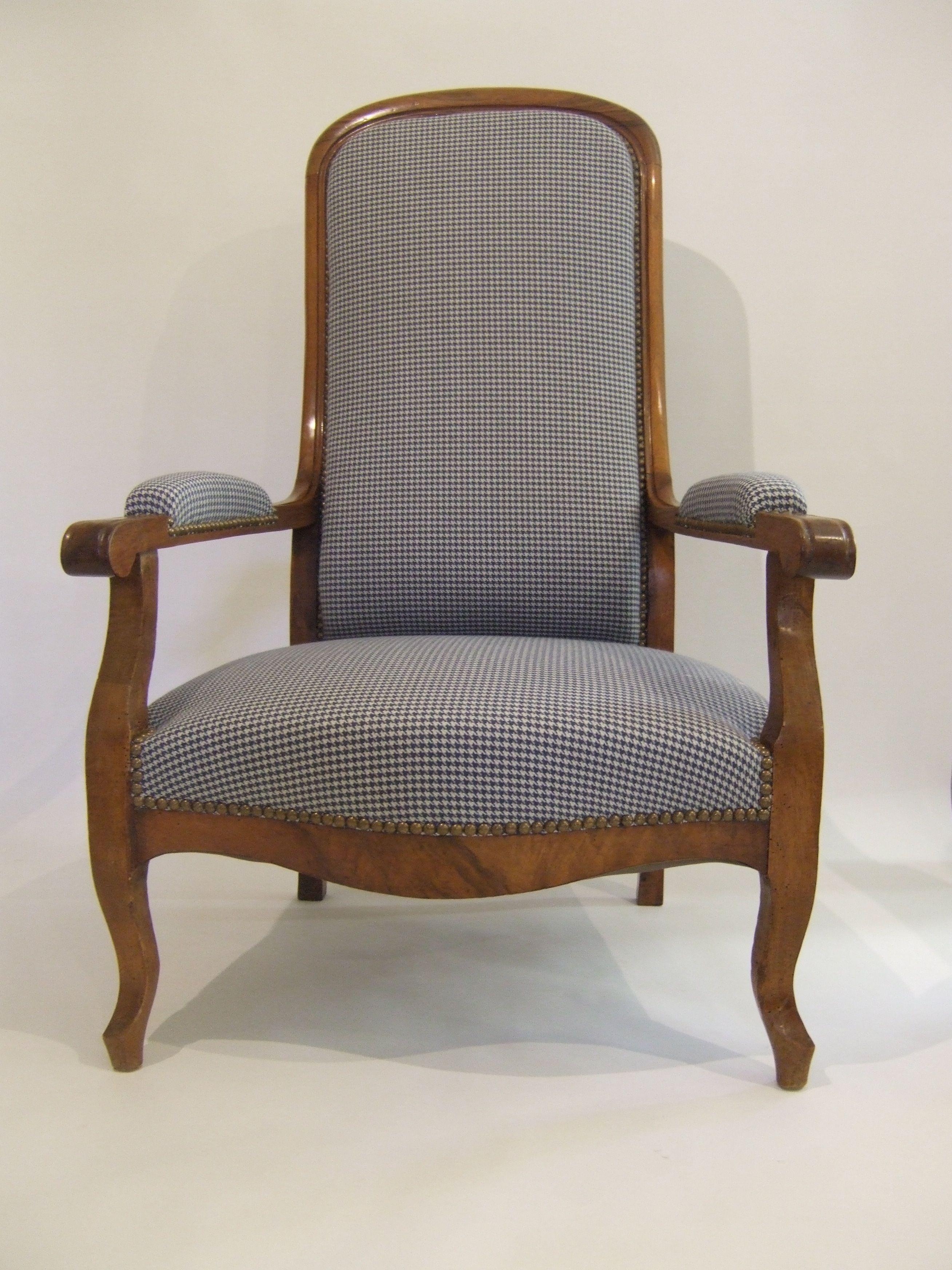 fauteuil voltaire pied de poule fauteuils pinterest fauteuil voltaire voltaire et pied de. Black Bedroom Furniture Sets. Home Design Ideas