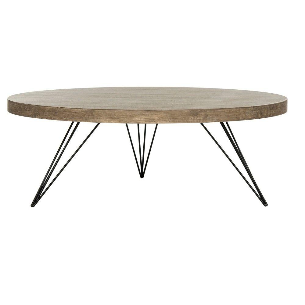 Mansel Coffee Table Light Gray Safavieh Coffee Table Mid Century Coffee Table Round Coffee Table [ 1000 x 1000 Pixel ]