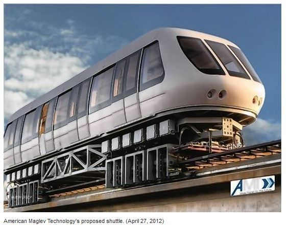 Us Metroplan Orlando Approves Mag Lev Train Plan Maglev