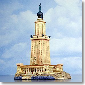 The 7 Wonders of the Ancient World : Lighthouse at Alexandria ...