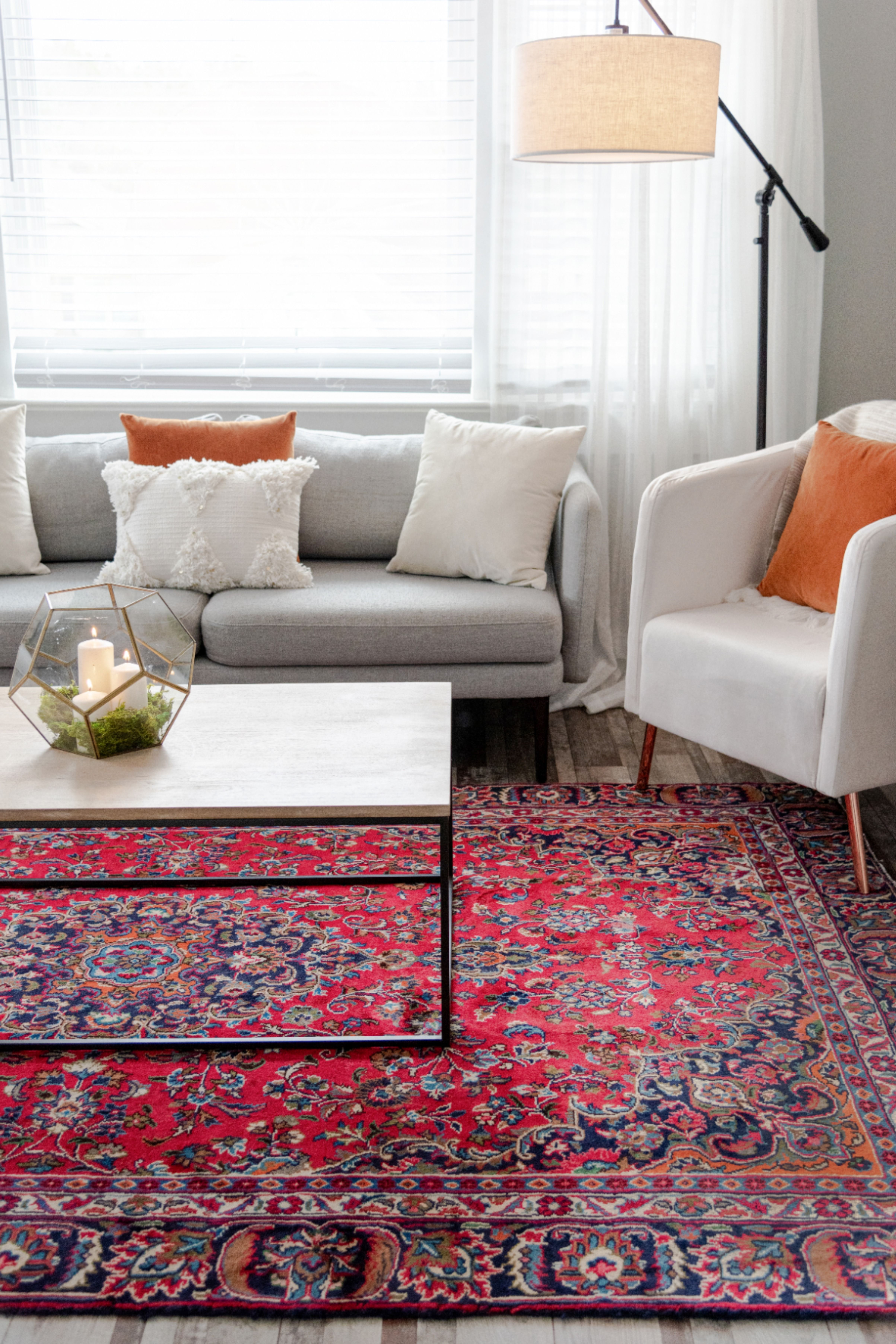 Shop Our Mashad Persian Collection To Find The Perfect Rug For Your Living Room Livingr In 2020 Persian Carpet Living Room Persian Rug Living Room Living Room Carpet