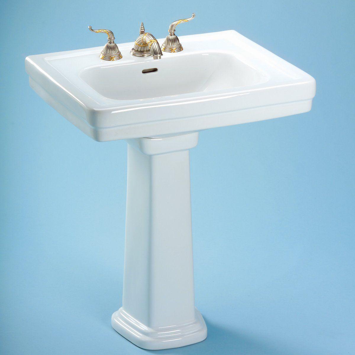 Toto LPT530.8N#01 Promenade Pedestal Sink | Bathing Beauties ...