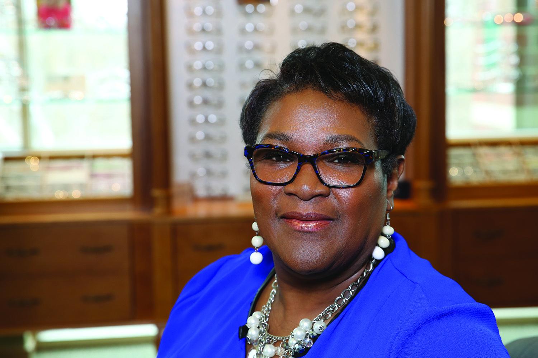 Lisa Ballard Greeter at L.O. Eye Care Women lifestyle
