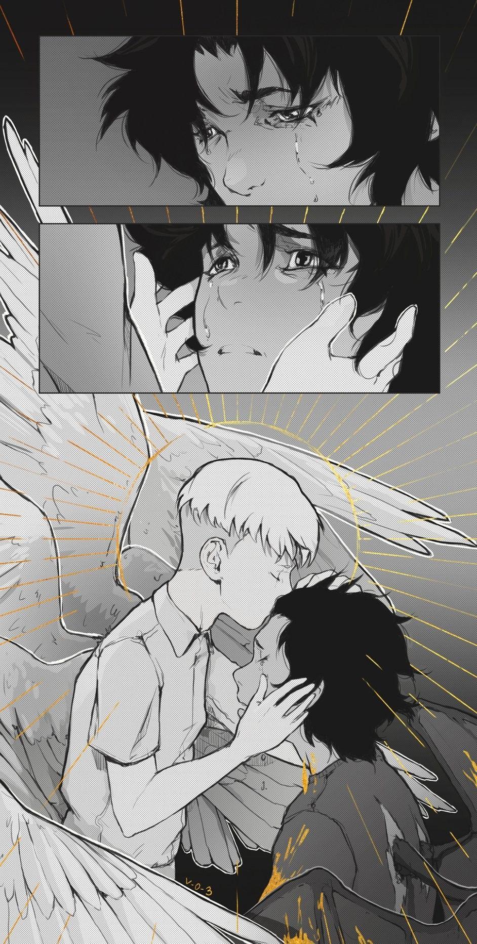 Ryo Asuka Satan Akira Fudo Devilman Devilman Crybaby Anime Anime Wallpaper