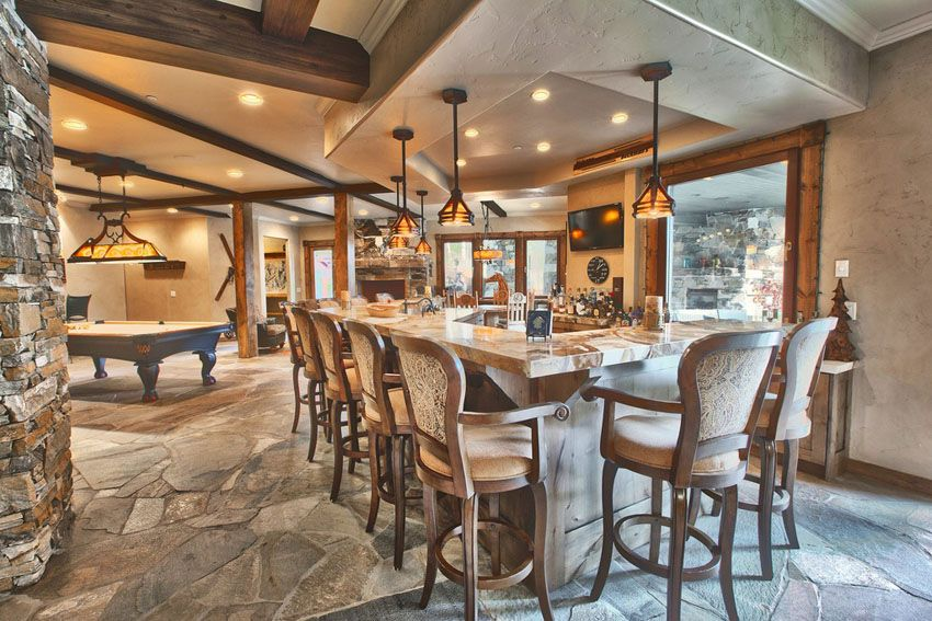 37 Custom Home Bars Design Ideas Pictures Luxury Homes Game