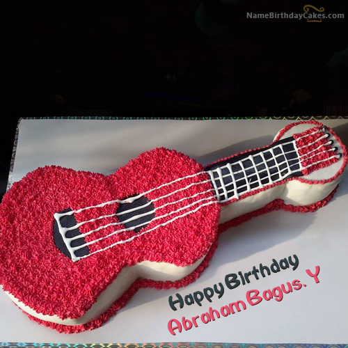 The Name Abraham Bagus Y Is Generated On Happy Birthday Images