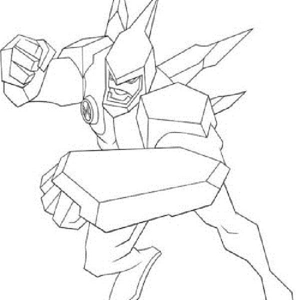 Ben 10 Diamondhead Coloring Pages Coloring Pages Color Card