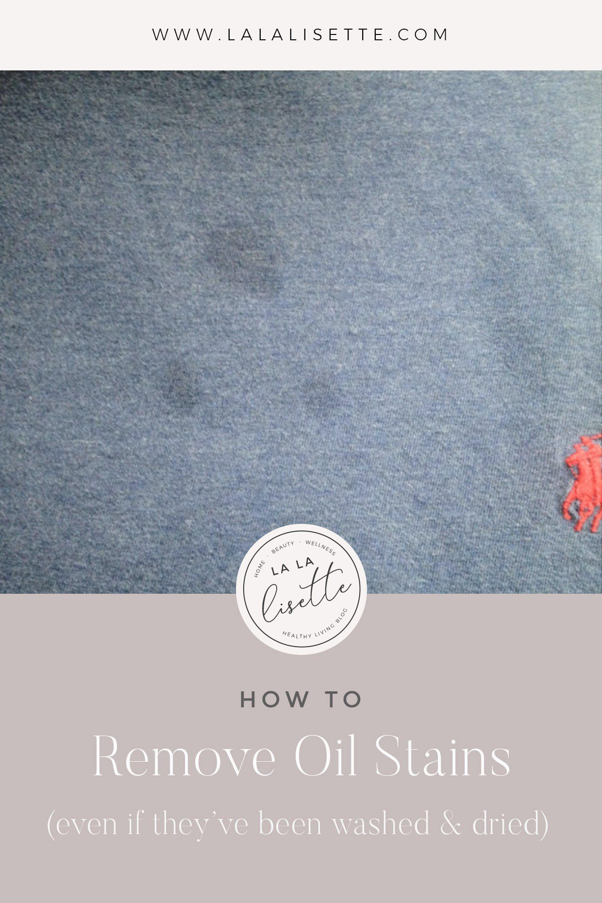 How To Get Grease Stains Out Of Washed Clothes