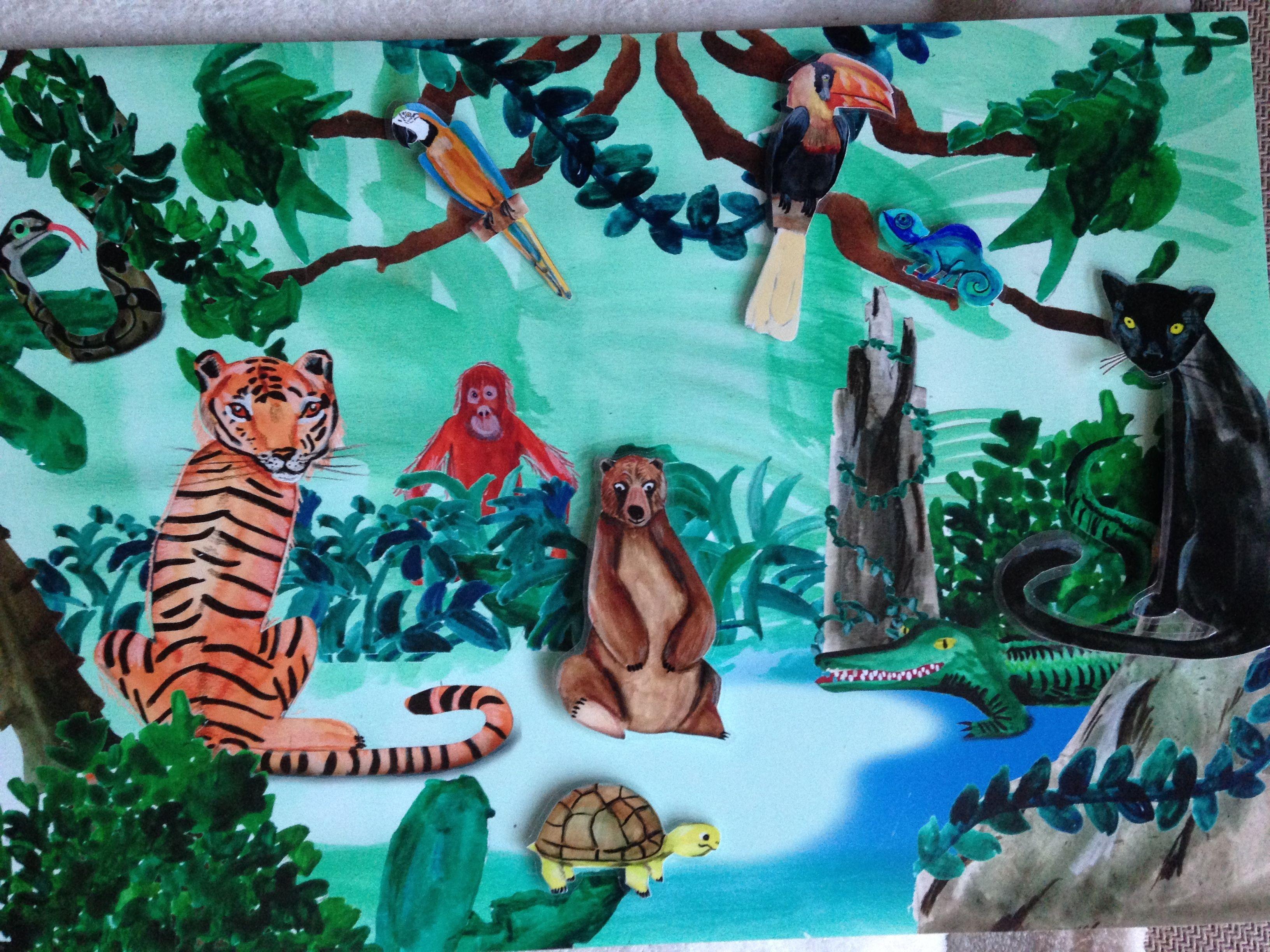 Praatplaat Jungle