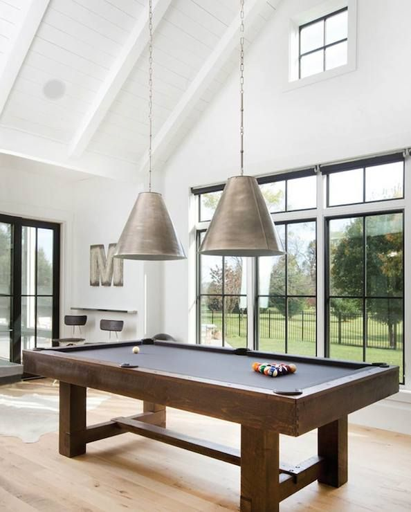 Stunning Games Room Boasts Tongue And Groove Clad Vaulted