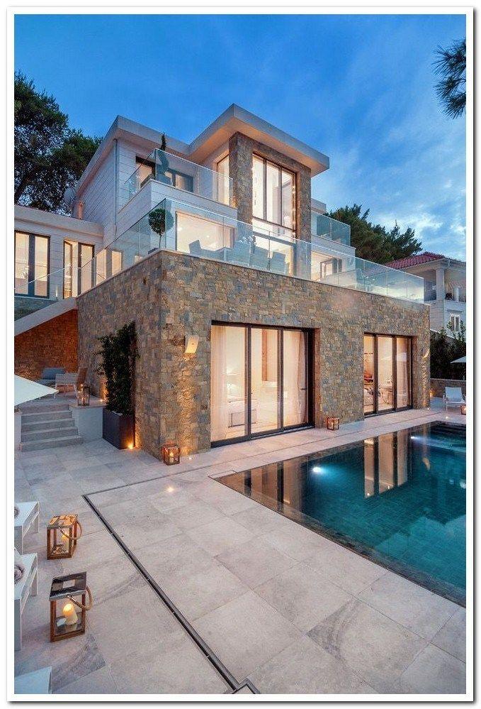 42 Stunning Exterior Home Designs: 42 Stunning Modern Dream House Exterior Design Ideas 16 In