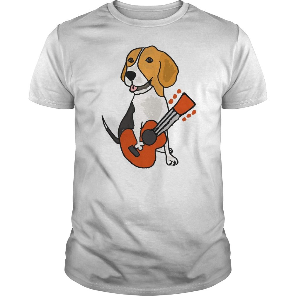 Gibson Guitar Clothing beagle Guitar | Premium - Fitted Guys Tee #gibsonguitars