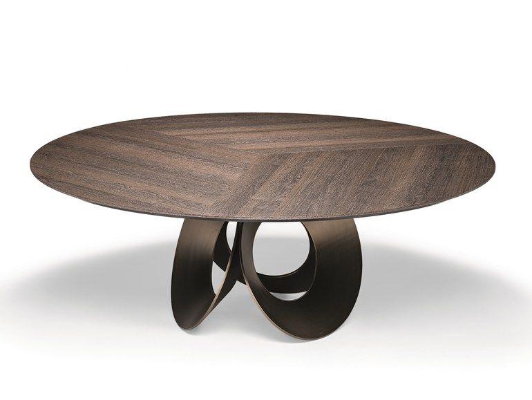 Tavolo da salotto rotondo in fibra di legno ORACLE   Tavolo in fibra ...