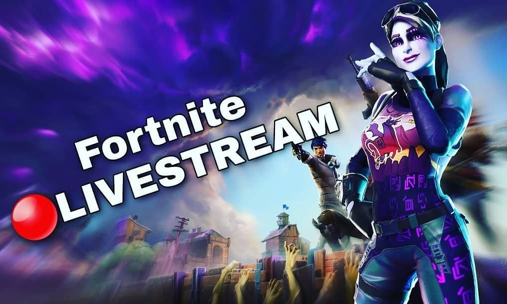 Fortnite Live Stream Thumbnail With Images Comic Book Cover