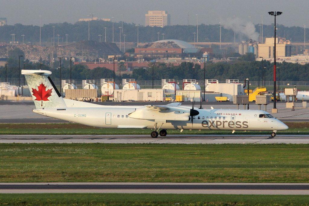 Air Canada Express Fleet (Jazz) Bombardier Dash 8 Q400