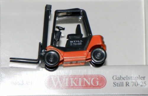 Wiking 066301-1//87 Gabelstapler Still R 70-25 Neu