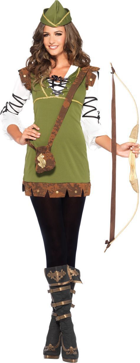 adult classic robin hood costume party city costumes. Black Bedroom Furniture Sets. Home Design Ideas