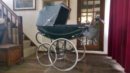 Manton Vintage Coachbuilt Carriage Pram | eBay