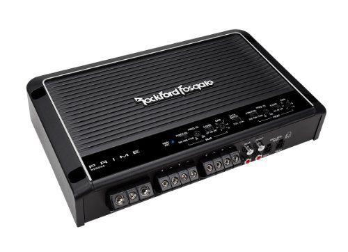 Rockford Fosgate Prime 4 Channel Amplifier Rockford Fosgate Car Audio Amplifier Class D Amplifier