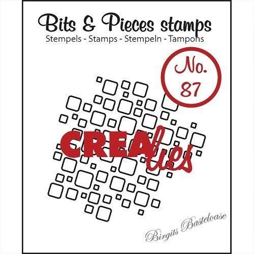 Crealies Clearstamp Bits /& Pieces no 94 Open Bricks Medium